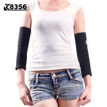 K8356 Breathable Sweat-absorbent Elbow Protector Basketball Sports Safety Elastic Elbow Support Security Protection Gear Black