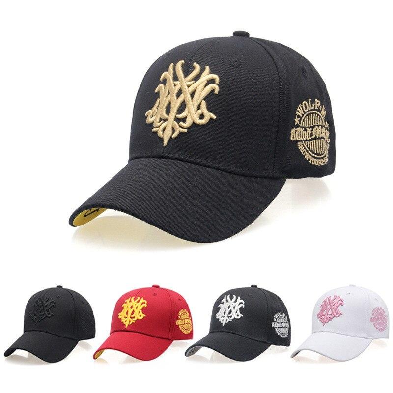 2019 New High Quality Brand Washed Cavans Adjustable Hats Woman Man   Baseball     Cap   Snapback   Cap   Letter Design For Men Women Hat