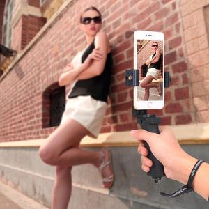 Image 3 - هاتف محمول ماسِك للجوّال مثبت الهاتف المحمول Selfie عصا Gimbal قوس المشبك آيفون سامسونج هواوي شاومي Oneplus