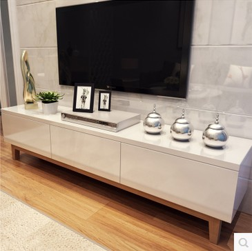 De Haute Qualite Tv Armoires Blanc Bois De Peinture Combinaison De Créativité IKEA Salon  Moderne Minimaliste Style Scandinave Meuble