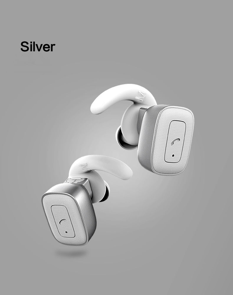 suqy TWS Bluetooth In-Ear True Wireless Mini Twins in Ear Stereo Airpods Style Sweatproof for iPhone7 Samsung glaxy carkit mini wireless bluetooth 2 in 1 in ear earphones car phone charger usb dock stereo headphones for dacom iphone 7 airpods