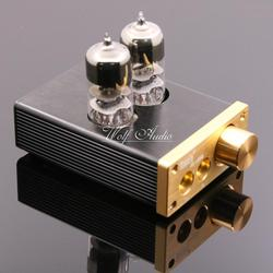 U808 Class A HIFI 6J3 Vacuum Tube Headphone Amplifier Portable Headphone Amplifier Finished