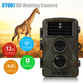 BOBLOV CT007 HD 1080P 12MP Hunting Camera Scouting Trail Camera Game Wildlife IR LED Night PIR Motion Detection 0.6S TriggerTime