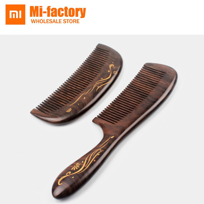 Smart Electronics Honesty Best Gift Xiaomi Xinzhi Healthy Natural Log Comb No Static Pocket Wooden Comb Hand Made Professional Hair Styling Tool For Woman