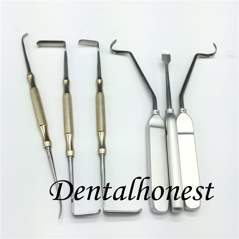 1set Nose plastic surgery instrument set nasal bone nose bone chisel in Toiletry Kits from Beauty Health