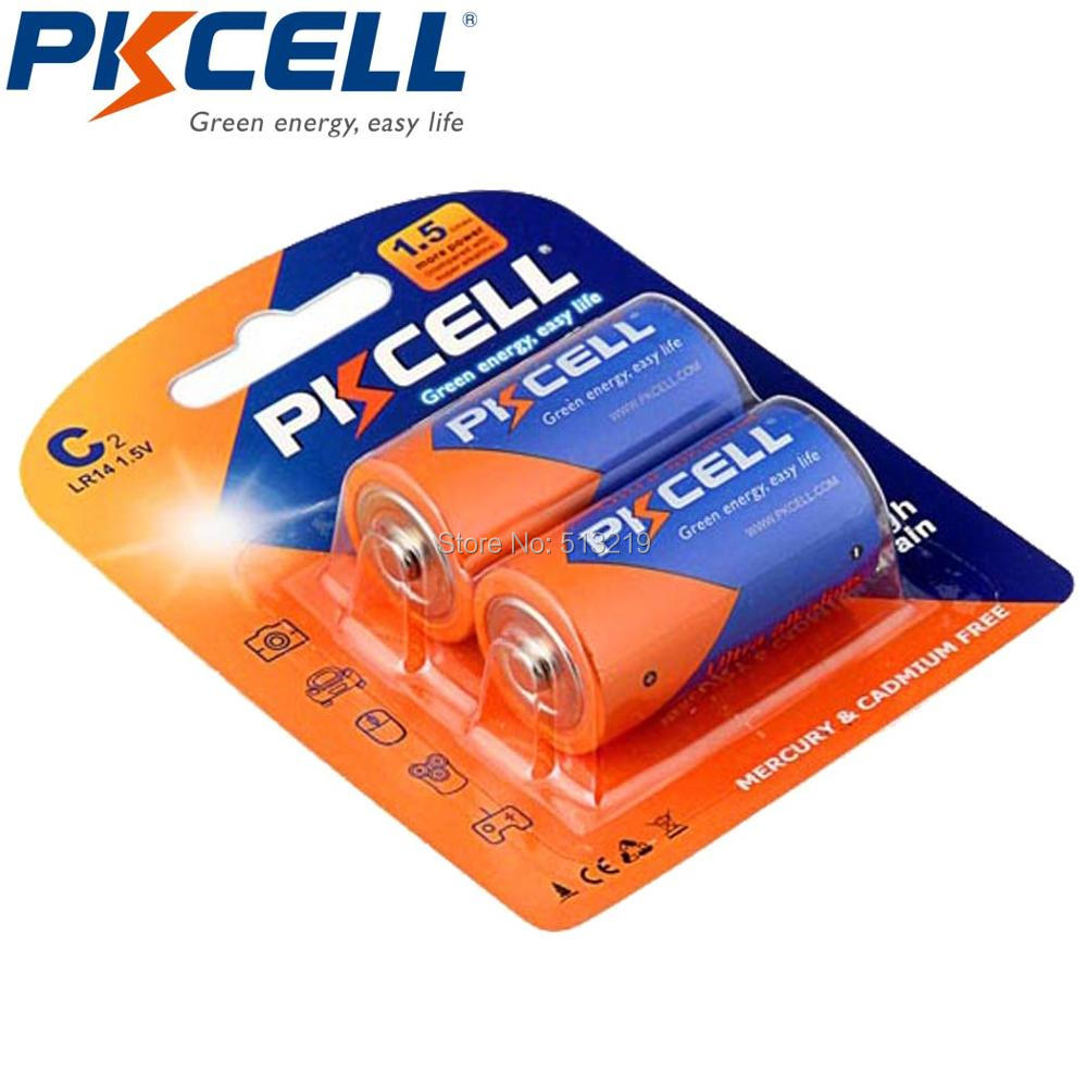 12PCS/6Card 1.5V Alkaline AM-2 LR14 C MN1400 E93 Battery Superior R14P UM2 For Loudspeaker,Gas Cooker,Mircophone,Water Heater