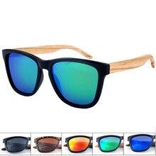 Natural polarized Sunglasses women Vintage Handmade Sun Eyewear Brand Designer Original Wood Glasses Fashion