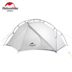 Image 3 - Naturehike VIK serisi Ultralight su geçirmez 1 kişi tek katmanlı açık seyahat çadırları yürüyüş kamp çadırı