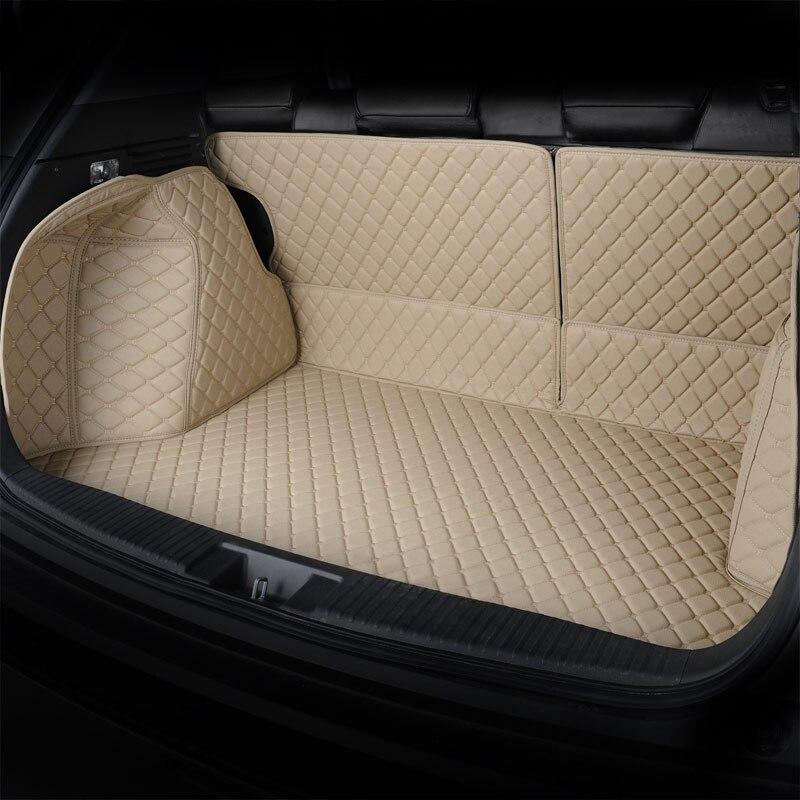 Tapis de coffre arrière pour voiture tapis de coffre pour hyundai ix25 ix35 santafe sonata, changan cs35 cs55 cs75 cs95 eado xt - 2