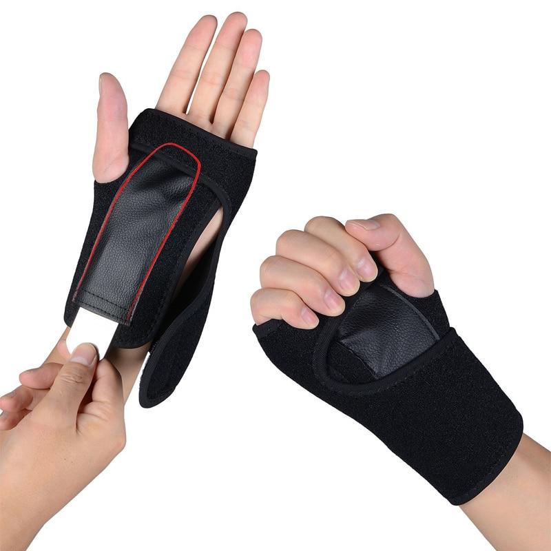 1Pair Wrist Support, Wrist Brace for Carpal Tunnel, Adjustable Sports Wrist Brace Support for Tendonitis, Sprains, Arthritis