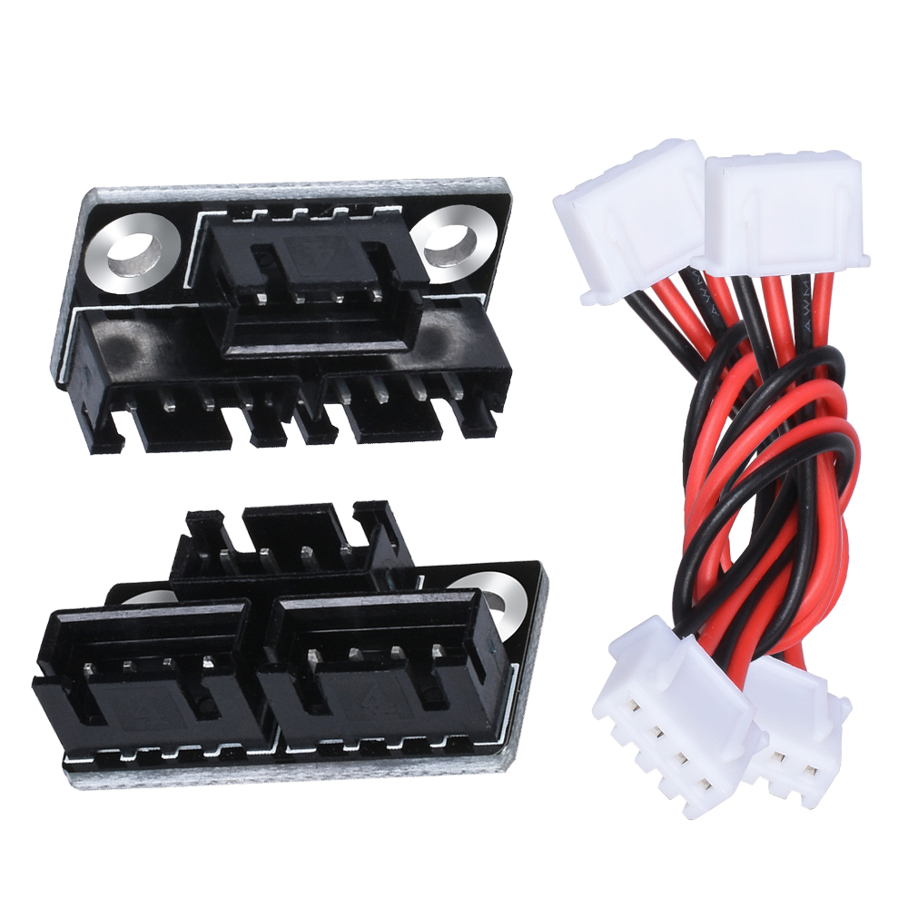 1/2PCS New Motor Parallel Module Expansion Board Double Z-axis Dual Z Motors to Driver External Splitter 3D Printer Parts RepRap