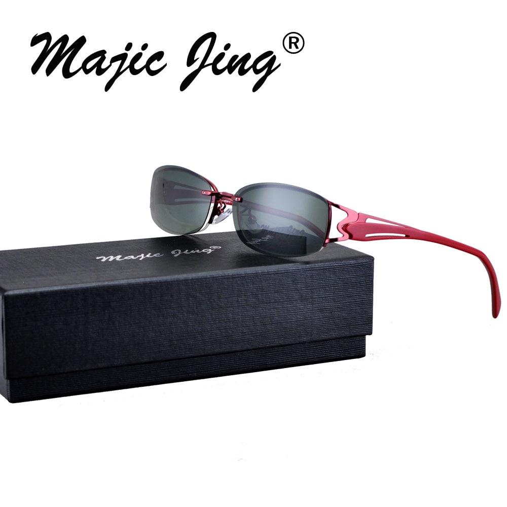 Magie Jing S9059 Livraison gratuite Mode polarisées clip sur lunettes de  soleil lunettes avec TAC objectif parasol d8044a3a25a3