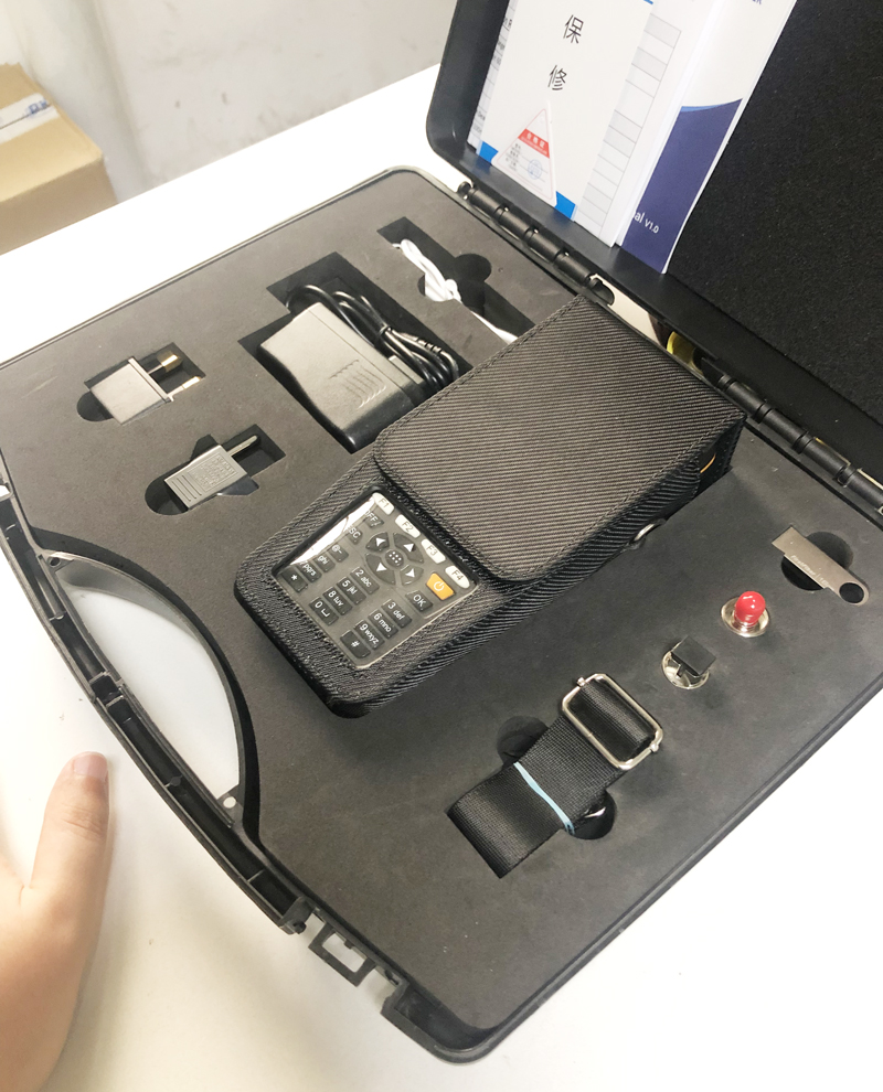 Durable Carrying Suitcase For FirstFiber OTDR 980PRO.Just An Empty Box Without Any Connectors And Equipments