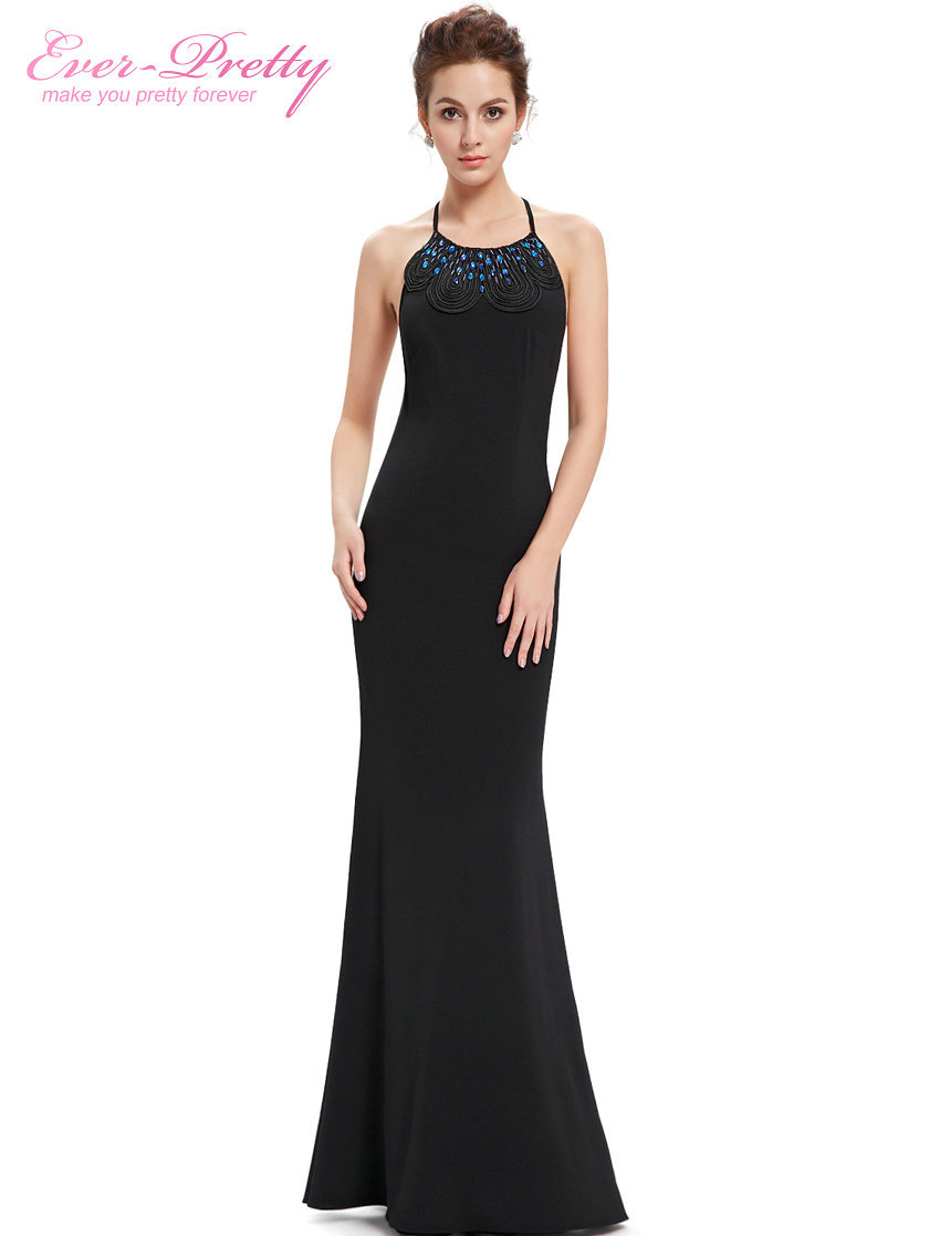 Evening dresses fashion women sexy 2016 black adjustable for Womens summer dresses for weddings