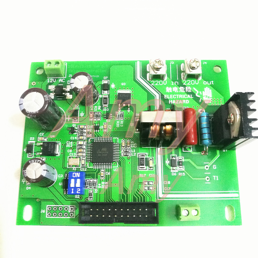 Tools : JST41-1200 Battery spot welding control board 16 single chip microcomputer control 1602 MCU LCD encoder double pulse