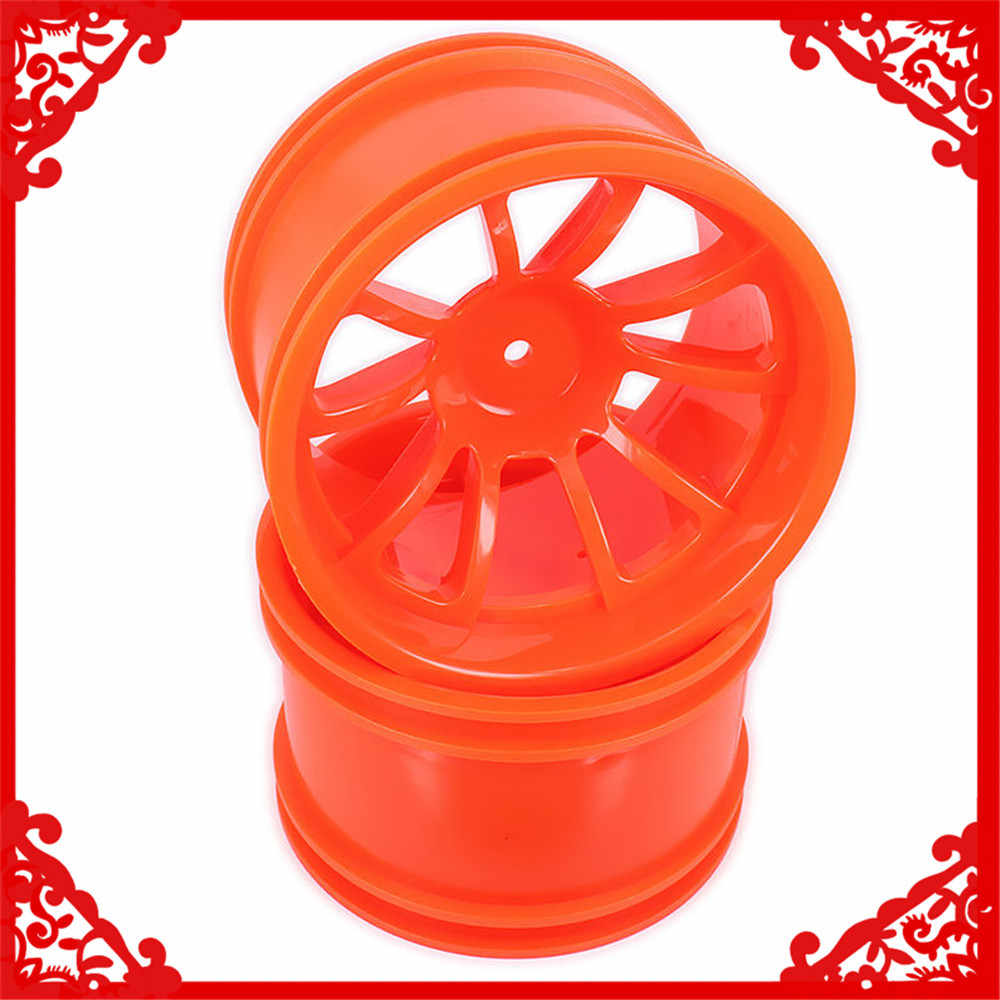 Plastic Velg w/o Band Voor Rc Auto Himoto 1/10 Big Foot Monster Truck Truggy Auto HSP HPI traxxas Redcat 08008 08044