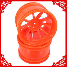 Plastic Velg w/o Band Voor Rc Auto Himoto 1/10 Big Foot Monster Truck Truggy Auto HSP HPI traxxas Redcat 08008 08044(China)