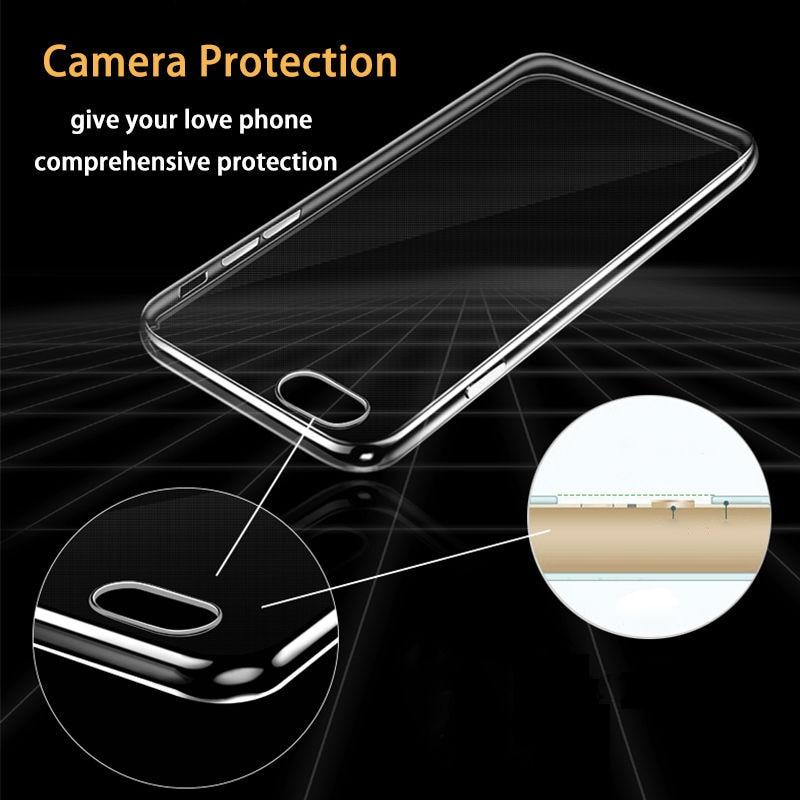 Telefonskydd för iphone 6S genomskinlig mjuk silikon Coque Crystal - Reservdelar och tillbehör för mobiltelefoner - Foto 2
