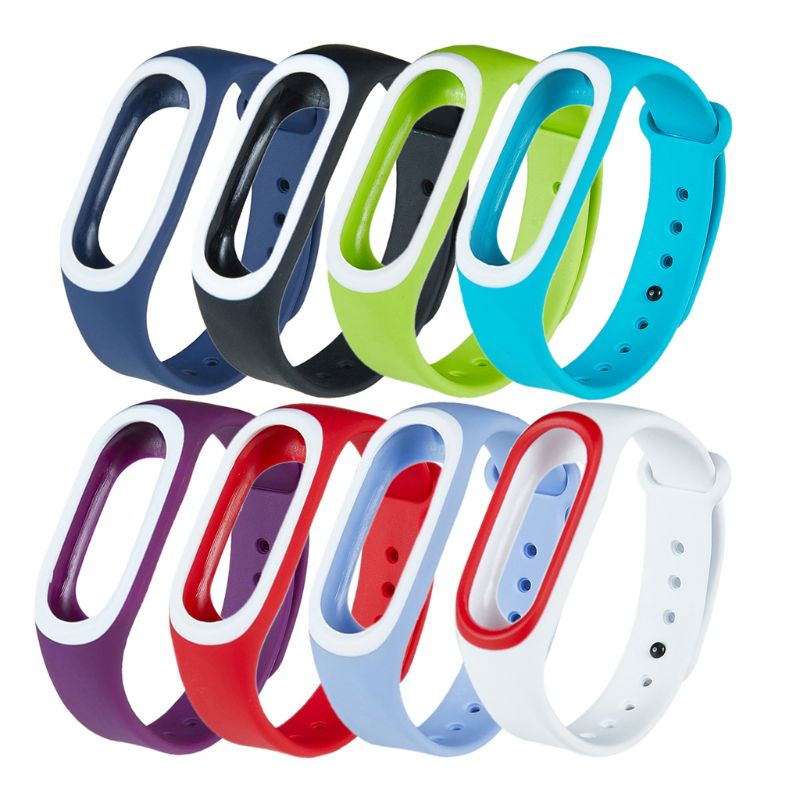 Silicone Colorful Wristband Bracelet Band Sport Watch Strap For Xiaomi Hey Plus Smartband
