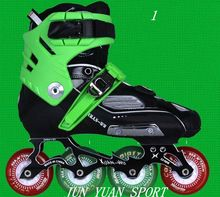 High quality ! Speed Skates Inline Speed Skating Shoes 4 Wheels Patines Roller Skates For Child Adults