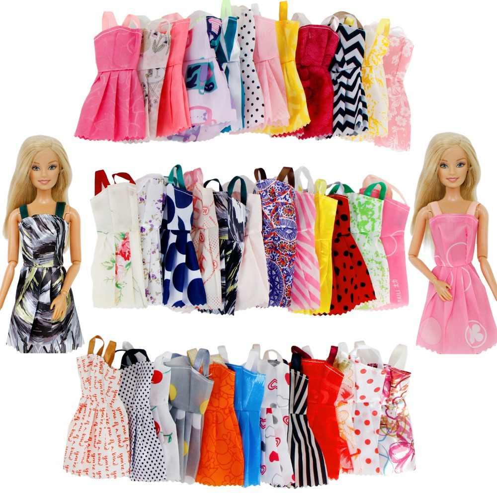 ... Random 30 Pcs Lot 10x Mini Dresses Daily Wear Skirt + 10x Shoes + ... 65b430b5c5f6