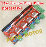 5Axis Stepper Motor Driver DD8727T5V1 Stepping Motor Driver 50V 4A 128Microstep