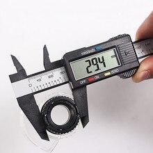 150 мм 6 дюймов LCD цифровая линейка Электронный штангенциркуль из углеродного волокна Калибр микрометр Измерительный Инструмент Калибр цифровой Suwmiarka