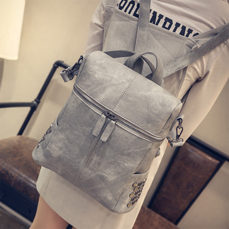 Raged Sheep Fashion Girls Backpack School Bag PU One Shoulder Bag Girls Backpacks For Teenage Girls