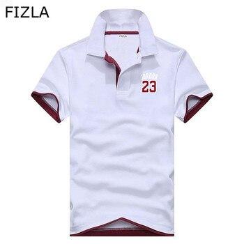 6b7dd1d2 Campamento de pioneros camisas de Polo de los hombres ropa de marca OFICINA  DE polos Hombre calidad 100% algodón de verano casual polo de los hombres