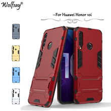 Huawei Honor 10i Case Slim Shockproof Armor Rubber Hard PC Phone For Back Cover Fundas *