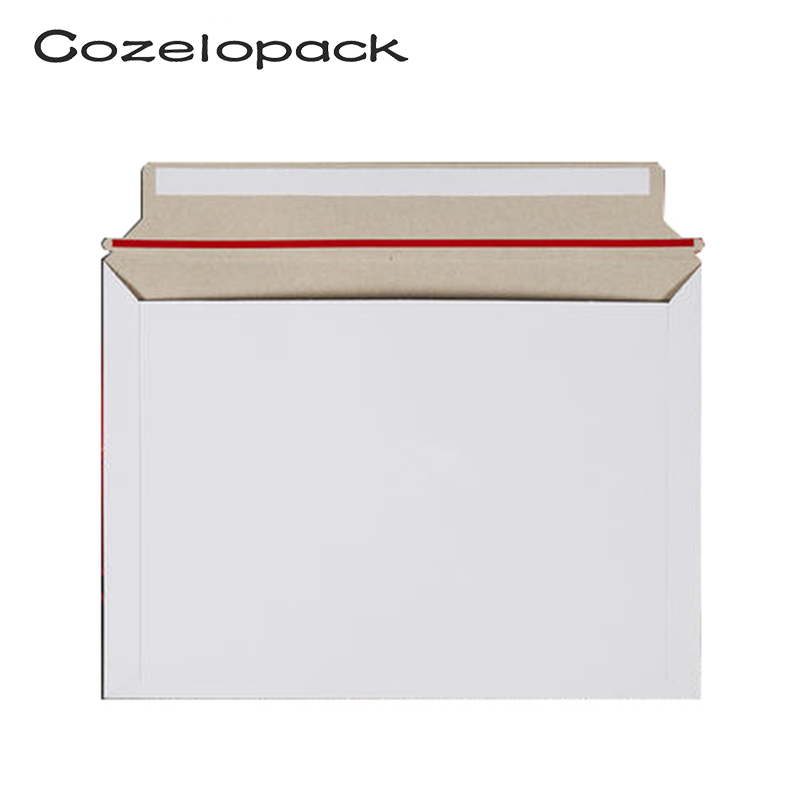 10 Pack 320x230mm Mailjackets Rigid Mailers Paperboard Envelopes  Stay Flat, Cardboard, Fiberboard