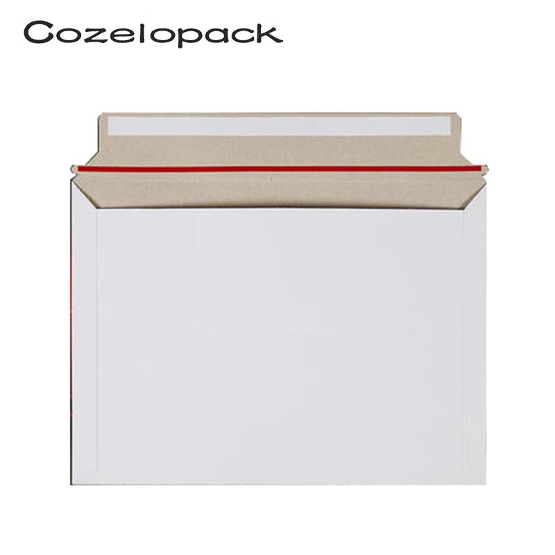 10 Pack 320x230mm Mailjackets Rigid Mailers Paperboard Envelopes  Stay Flat, Cardboard, Fiberboard