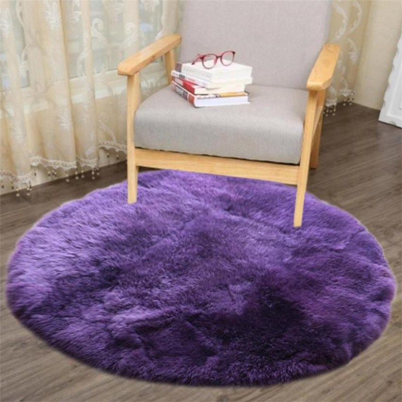 2018 New Soft Artificial Sheepskin Rug Chair Cover Artificial Wool Warm And Cozy Hairy Carpet Seat Pad 19