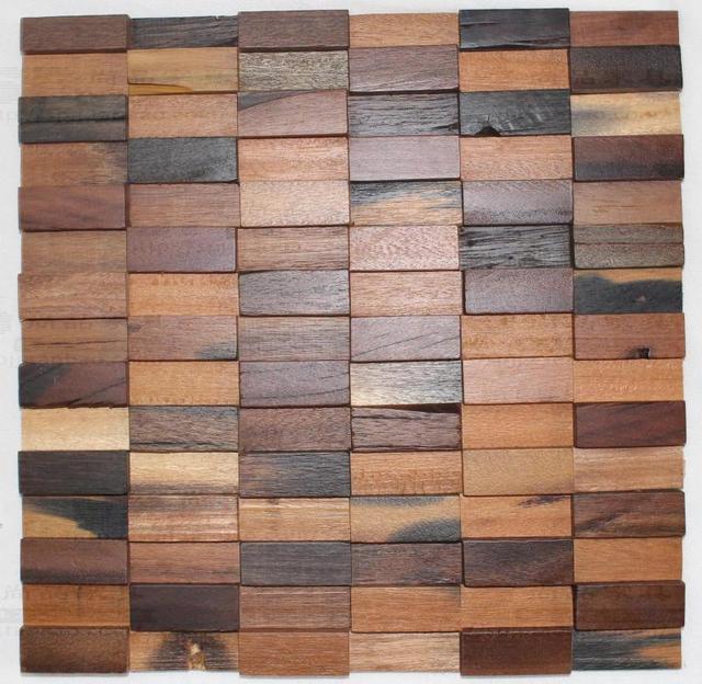 EHW1010 naturholz mosaik fliesen küche backsplash fliesen alte holz ...