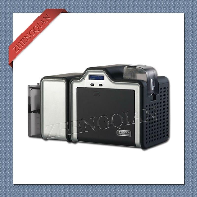 HID HDP5000 imprimante de carte d'identité à retransfert thermique double face avec un 84053 et trois 84051