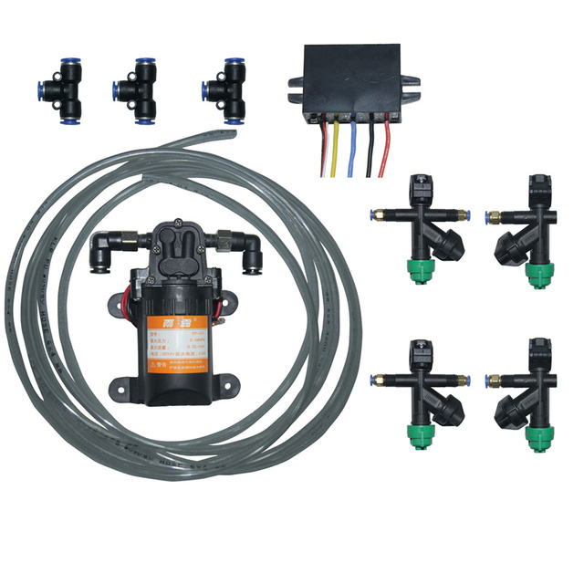 Kit de sistema de pulverización DIY 20mm boquilla de presión de tubo de carbono 12 V bomba de agua 24 V-12 V Buck convertidor para Dron de agricultura 5L/10L/15L/20L