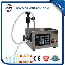 Good Quality Small Digital Control Pump Oil, Juice Filling Machine