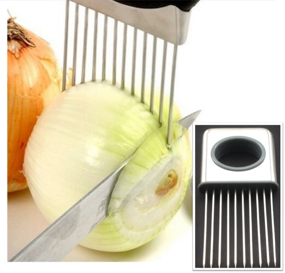 onion tomato easy holder kitchen slicing helper vegetable tools Vegetable Holder for Kitchen