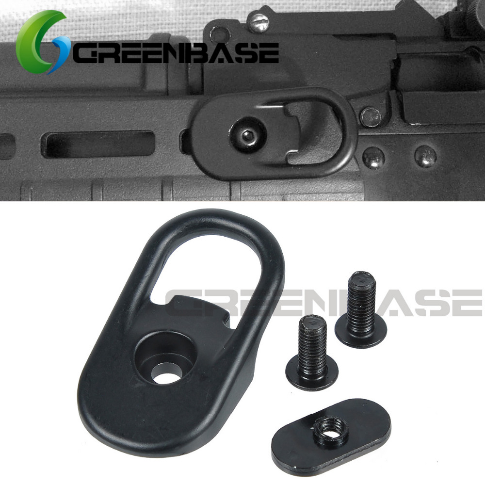 Greenbase Handguard MOE Sling Attachment Adapter MSA Point Strap MS2 MS3 Sling Swivel Steel Mount Andguard