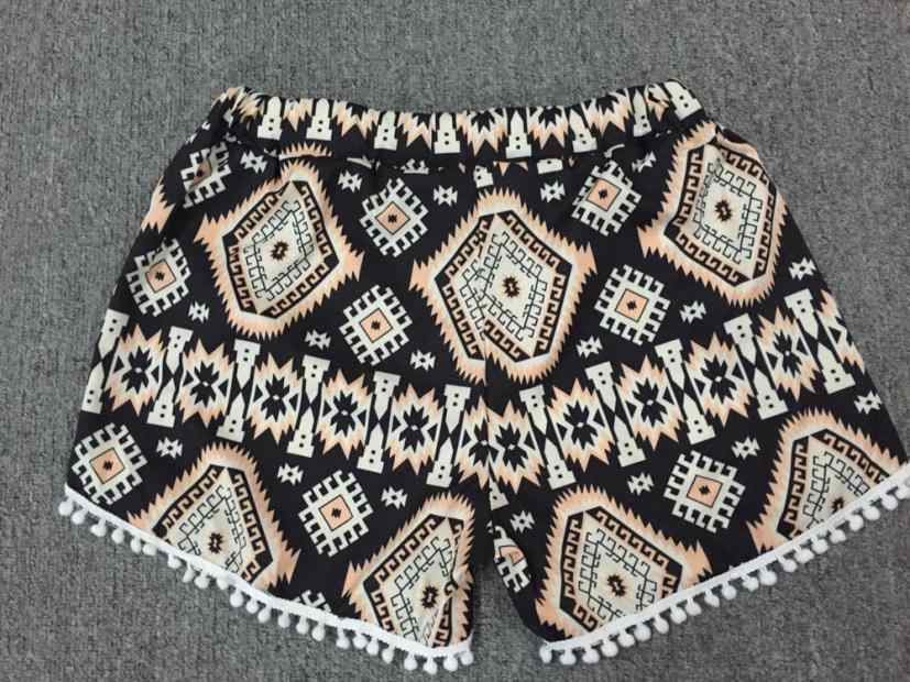 Женские шорты с высокой талией и кисточками, летние короткие пляжные S-XL 0704