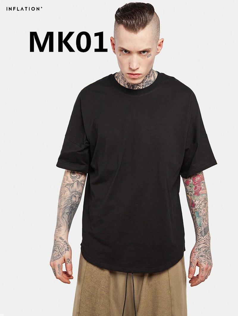 2018 Новое поступление Модная Мужская футболка из 100% хлопка MK01 2 шт./компл.