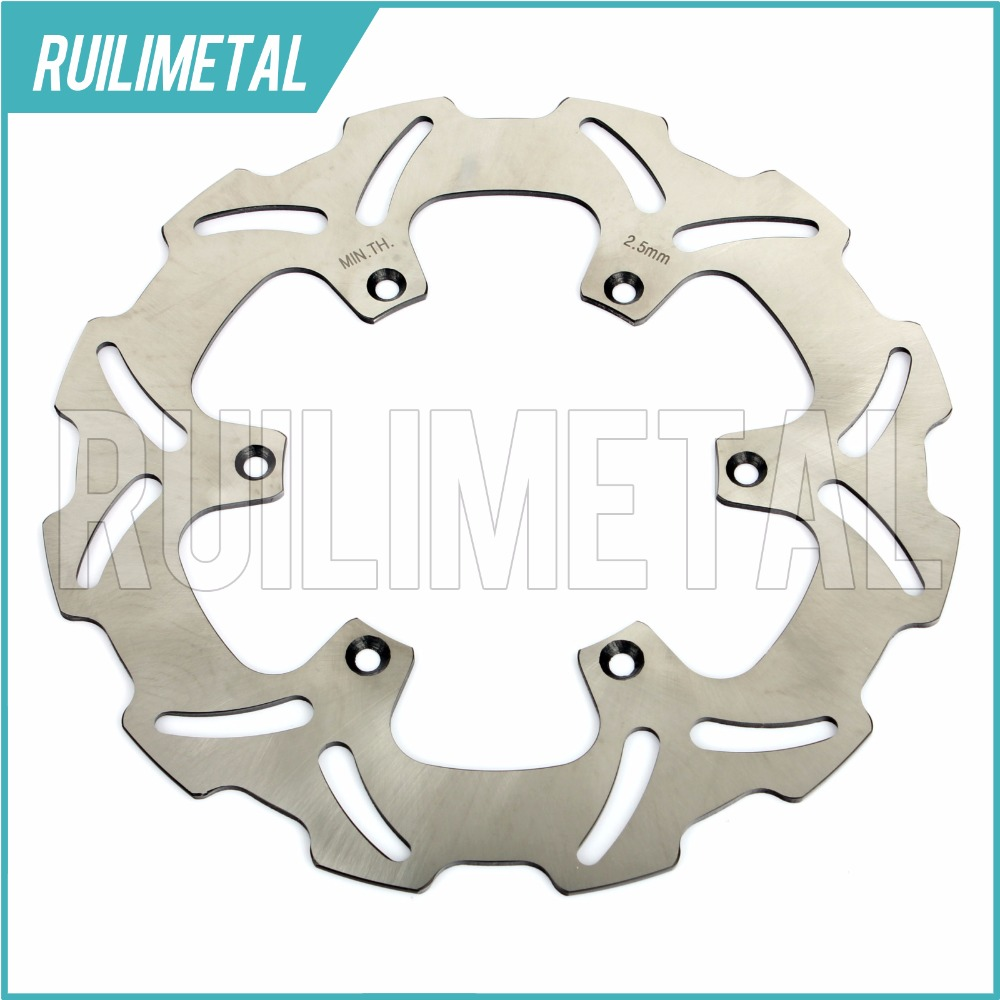 Front Brake Disc Rotor for SUZUKI RM J 125 RMX DRZ  250 E- S 400 S RM125 RM250 RMX250 DRZ250 01 02 03 04 05 06 07 08 09 10 11 12 fit for rm 125 00 09 rm250 00 01 02 03 04 05 06 07 08 09 10 11 12 front rear brake disc rotor bracket bracket oversize 320mm