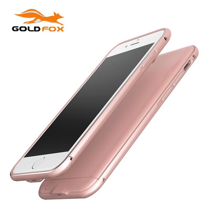 imágenes para Silm Ultra Banco de la Energía Del Cargador de Batería Externa Para el iphone 7 Caso Battey Para el iphone 7 Más Estuche Cargador de Reserva