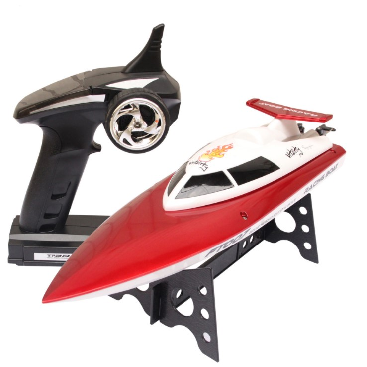 High Speed FT007 2.4G 4CH 20km/h Radio Control RC Boat Feilun FT007 FT007 VS FT0012 FT009 FT008 купить недорого в Москве