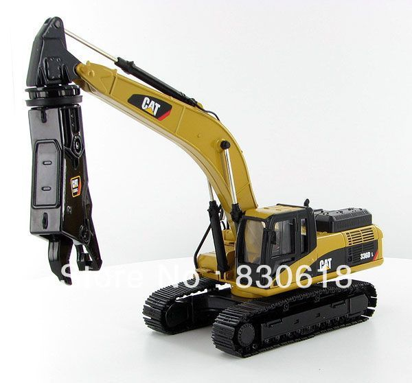 Norscot Caterpillar 336D Hydraulic Excavator 1:50 w/ Demo scrap shear 55283 NEW toy first gear 50 3246 komatsu d65px 17 bulldozer w hitch 1 50 nib toy