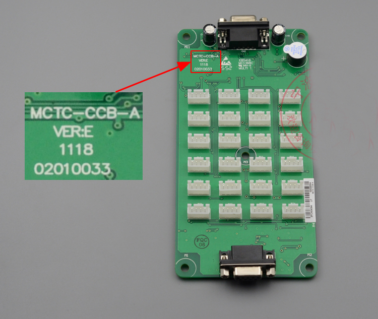 Free  Shipping High Quality Original MCTC-CCB-A Elevator Part  Manak Command Board Car Buttons / Expansion Board/common Protocol