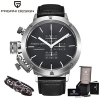 Luxury Brand PAGANI DESIGN Watch Men Unique Innovative Sport Multifunction Waterproof Quartz Watches Relogio Masculino S