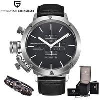 Luxury Brand PAGANI DESIGN Watch Men Unique Innovative Sport Multifunction Waterproof Quartz Watches Relogio Masculino S