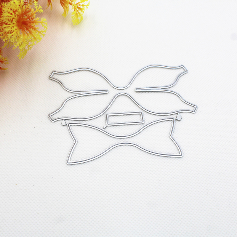 3D Bow For Wedding Metal Cutting Dies Scrapbooking Embossing Paper Craft Decor