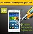 0.26mm Premium Vidro Temperado protetor de Tela de proteção filme para Huawei Y360 Anti-shatter film para Huawei Y360 frente lcd films